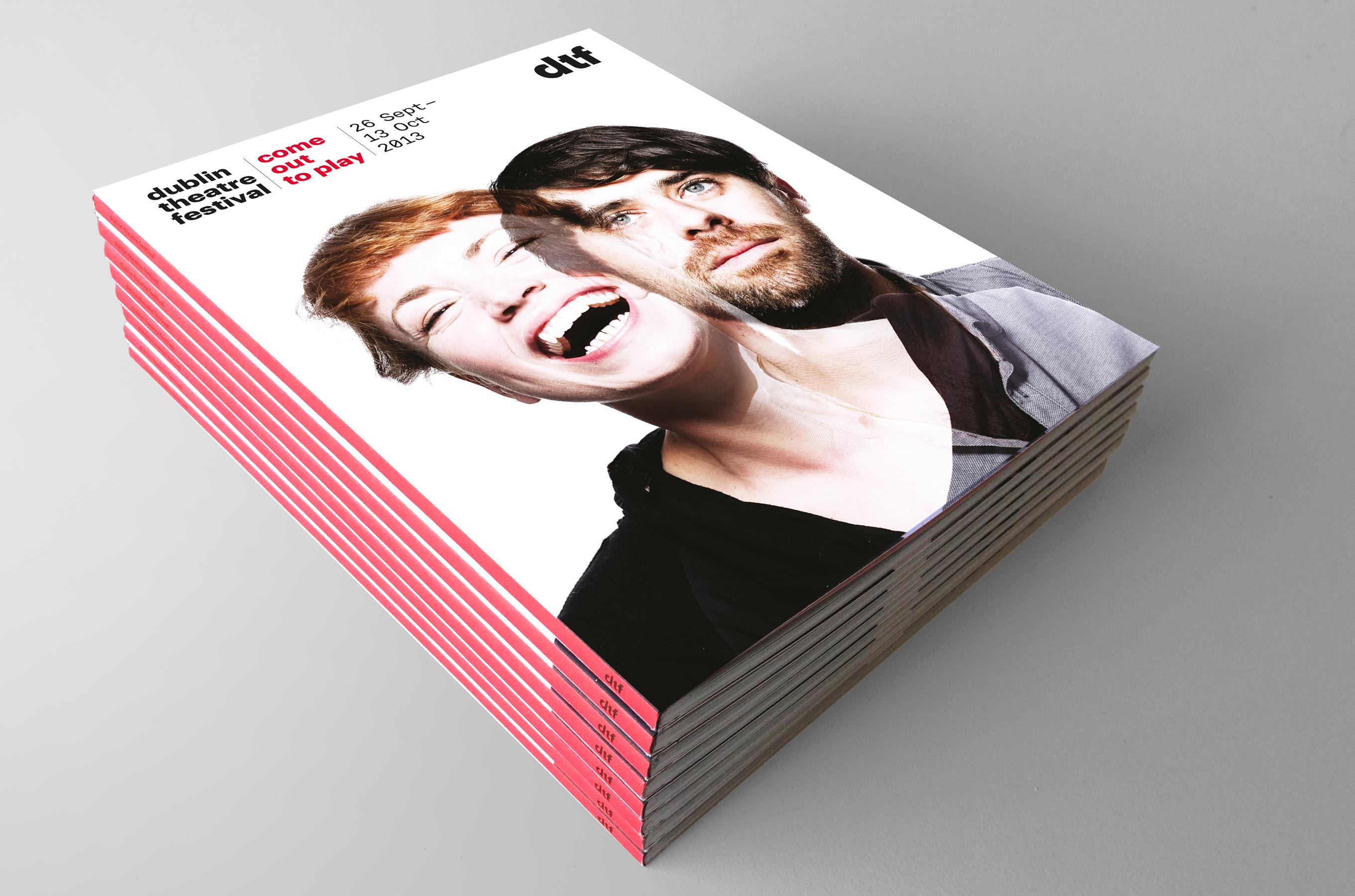 13/15 Dublin Theatre Festival — Rebrand and collateral 2013